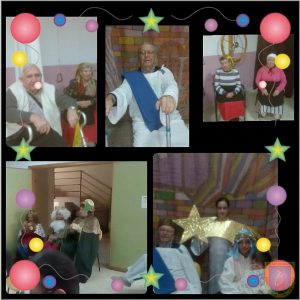 Belén viviente de año nuevo 2017 en la Residencia Virgen de Alharilla