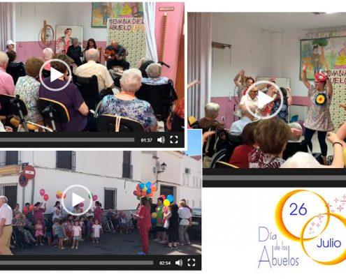 Celebración del Día de los Abuelos en residencia Virgen de Alharilla