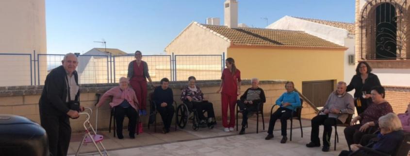 Residencia Virgen de Alharilla gimnasia al aire libre